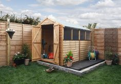 Share this post:42313 A shed base is an essential past of building a shed, the base has to be properly made to give your shed a solid foundation. On the face of things, building a shed base might seem like a daunting task, but follow these simple steps and you'll have a level and sturdy base for your new […]