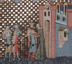 Bodleian Library MS. Bodl. 264, The Romance of Alexander in French verse, 1338-44; 184v