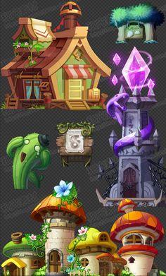 Versión del juego Art Resources / Aventura Rey Q de los encantadores efectos UI / interface / Iconos de sonido / UI / creativos efectos especiales / escenas - Taobao
