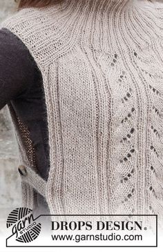 Hooded Scarf Pattern, Crochet Hooded Scarf, Knit Vest, Knitting Paterns, Knitting Stitches, Free Knitting, Crochet Diagram, Crochet Chart, Knit Crochet