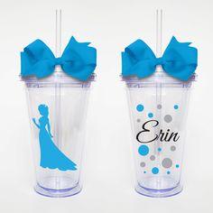 Elsa Disney Princess Frozen Acrylic Tumbler by SweetSipsters, $12.00
