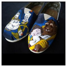I want these for Christmas!!! Beauty and the Beast Toms