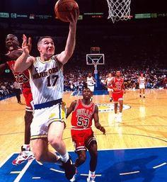 Chris Mullin Golden State Warriors Chicago Bulls Michael Jordan