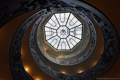 The double helix staircase