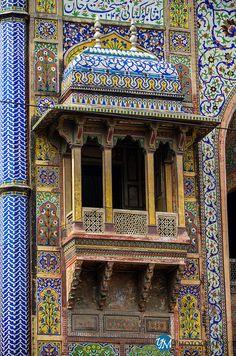 Wazir Khan Mosque by Yawar Masood Lahore, Pakistan