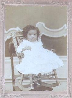vintage  African American baby
