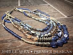"""The NEW @premierdesignsinc """"Levi"""" necklace is going to be a HUGE hit this season!!   Facebook.com/CiboloJewelryLady"""