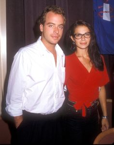 Leif Garrett and Justine Bateman Justine Bateman, Leif Garrett, Tiger Beat, Out Of Touch, I Cool, Classic Tv, Celebrity Couples, My Crush, Chef Jackets