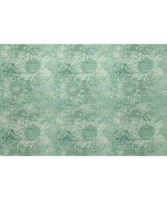 Liberty London Fabrics Rose May Linen Union in Jade