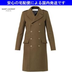 14秋☆日本未入荷☆キャバン コート カーキ☆サンローラン