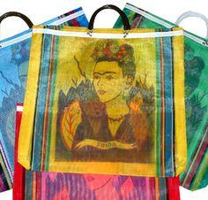 Frida Kahlo Market Bag Bolsos