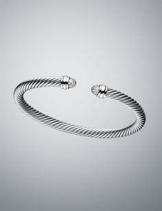 David Yurman Pave Cable Classic Bracelet