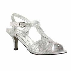 77d9b6f0f Easy Street Glamorous Womens Pumps Buckle Open Toe Spike Heel Wide Dress  Shoes