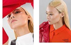 l got a secret #harpersbazaarcn #aprilissue #red #rouge #uniqlou #junyawatanabe #gasparglove #dior  via HARPER'S BAZAAR CHINA MAGAZINE OFFICIAL INSTAGRAM - Fashion Campaigns  Haute Couture  Advertising  Editorial Photography  Magazine Cover Designs  Supermodels  Runway Models