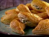 Poblano Cream Cheese Empanadas  http://www.foodnetwork.com/recipes/marcela-valladolid/poblano-cream-cheese-empanadas-recipe/index.html