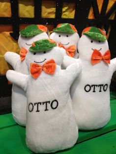 Our Very Own Otto The Ghost Hicks Nurseries