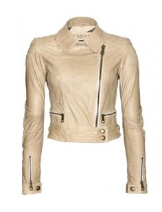 Burberry Brit - ASHLEIGH LEATHER BIKER JACKET - mytheresa.com GmbH