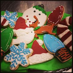 Cookies!  on a platter ready to party!  336-261-8725