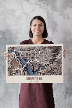 City Plan Any City Woodland City Map Washington DС Art Husband Wife Gift Mid Century Wall Decor Rustic New Home Housewarming Christmas City Plan Any City For FREE City Map Washington DС Art Valentines Day Husband Gift Mid Century Gifts For Husband, Fathers Day Gifts, Husband Wife, Valentines Day Husband, Plan Ville, 3d Laser Printer, Site Model, Laser Art, Forest City