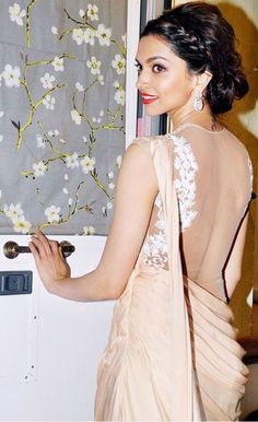 Princess Of Bollywood Deepika Indian Celebrities, Bollywood Celebrities, Bollywood Fashion, Bollywood Actress, Bollywood Saree, Deepika Padukone, Sonakshi Sinha, Kareena Kapoor, Saree Gown