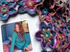Echarpe étoilée Crochet Bohème by eclectic gipsyland, via Flickr