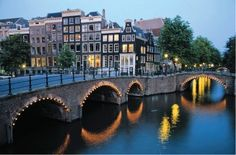 Amsterdam. Loved it.  Great shopping. Cafes everywhere. Moved & amazed by the Anne Frank house. Mesmerized by the Van Gogh Museum.