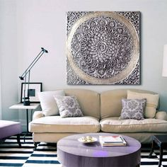 Muebles y mandalas que comercializan nuestros amigos y clientes de Estudio Delier.