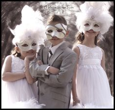 Very Cute. I'll copy the masks, but this is not a kid's party :)