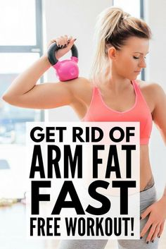 Want to lose arm fat FAST? This 12-minute workout video will target and tone your shoulders, biceps, and triceps, and if you own weights, you can do these exercises from the comfort of your own home. I can't say you'll see significant results in a week, but I definitely saw a difference within a month of doing this workout every single day. Such a shame it didn't have the same effect on my double chin. HA! Make sure to take before and after measurements and photos so you can track your…