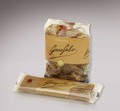 Packaging pasta integrale Garofalo. Angelini design Roma