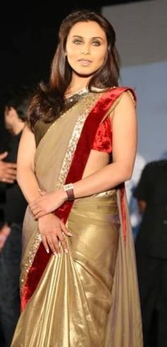 #Rani #mukherjee in #saree