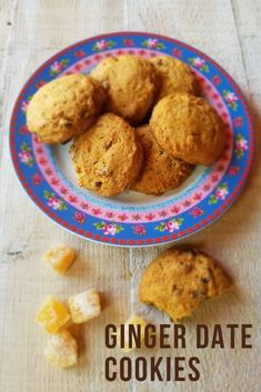 recipe Ginger Date Cookies