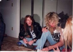 Axl and Steven