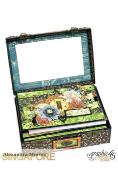 Nature Sketchbook Box&Notebook&ATC, Tutorial by Alexandra Morein, Product by Graphic 45, Photo 4