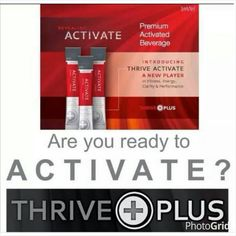 Can't wait to ACTIVATE!!!! How about you?  Http;//agosdin1.le-vel.com/experience