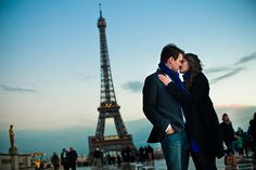 Beautiful French engagement session // Photo by: http://sarahdawson.net