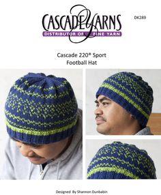 51884874180 Football Team Hat in Cascade 220 Sport - DK289 Free