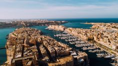 Aerial view of the Three Cities #Malta #VisitMalta #Photography #DronePhotography