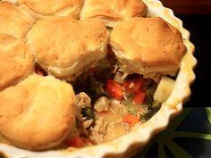 Turkey Pot Pie, 5 points plus and under 230 calories