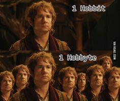 1 Hobbit = 1 Hobbyte