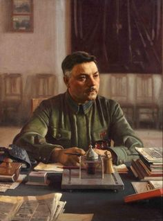 Voroshilov was born in the settlement of Verkhnye, Bakhmut district (uyezd), Yekaterinoslav Governorate (now part of Lysychansk city in Luhansk Oblast, Ukraine), in the Russian Empire, into a railway worker's family of Russian ethnicity.