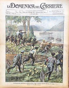 DOMENICA-DEL-CORRIERE-1904-BERSAGLIERI-CICLISTI-SCUOLA-ZUCCHERIFICI-SCHIFANOIA