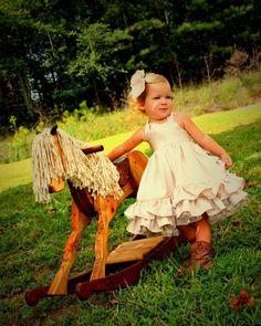 Pretty ruffle dress