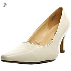 Karen Scott Clancy Womens Size 9 White Pumps Heels Shoes - Karen scott pumps for women (*Amazon Partner-Link)