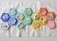 74/365 - Mini Hexie Quilt in Progress | Flickr - Photo Sharing!