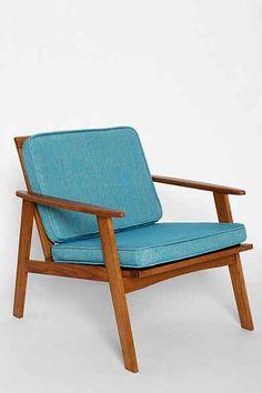 Dagmar Chair from Urban / Mid Century modern Living Room Inspiration, Furniture Inspiration, Home Decor Inspiration, Modern Chairs, Modern Furniture, Furniture Design, Nice Furniture, Furniture Makeover, Appartement Design