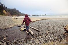 Burton Girls Fall Lookbook. Oregon Coast. Photo: Laura Austin
