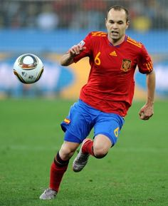 Iniesta: one of the best players of spanish team  Euro 2012's winner