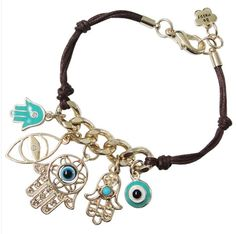 Free Shipping New arrival Blue Devil Eye Knitted hamsa Hand of Fatima Bracelets    Fashion jewelry wholesale   B047