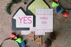 Modern Mexican wedding inspiration